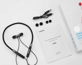 Lenovo HE05 Bluetooth Headphones Wireless Headsets Sport Introaly Online shop Bd